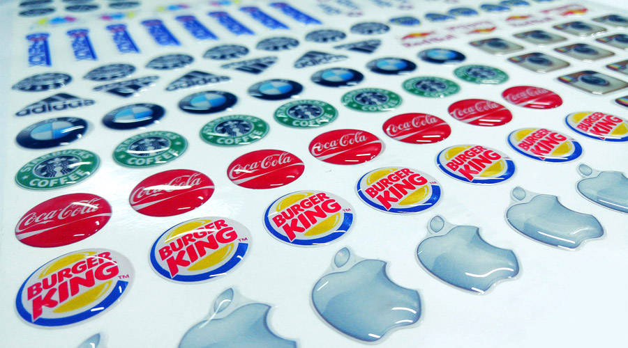 Stickers Domes y Stickers 3D